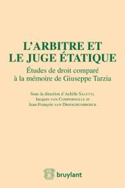 L Arbitre Et Le Juge Tatique