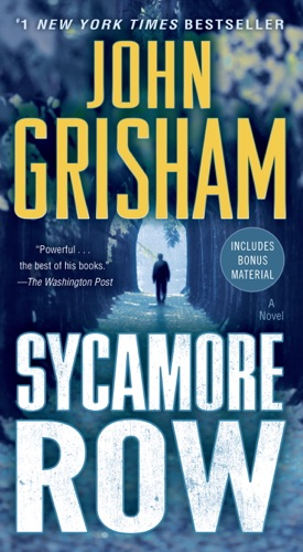 John Grisham - Sycamore Row