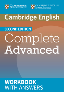 Complete Advanced Second edition Workbook with answers La couverture du livre martien