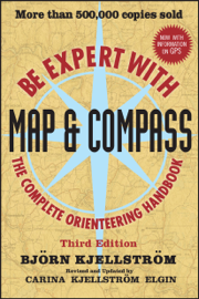 Be Expert with Map and Compass book
