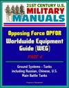 21st Century US Military Manuals Opposing Force OPFOR Worldwide Equipment Guide WEG Part 4 - Ground Systems - Tanks Including Russian Chinese US Main Battle Tanks