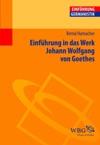 Einfhrung In Das Werk Johann Wolfgang Von Goethes