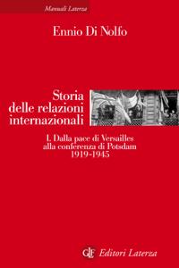Storia delle relazioni internazionali Copertina del libro