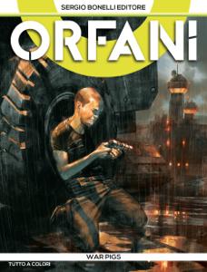 Orfani 8. War Pigs Copertina del libro