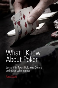 What I Know About Poker: Lessons in Texas Hold'em, Omaha, and Other Poker Games Book Cover