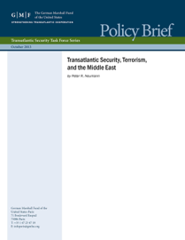 Transatlantic Security, Terrorism, and the Middle East book