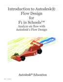 Introduction to Autodesk Flow Design for F1 in Schools