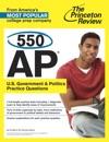 550 AP US Government  Politics Practice Questions