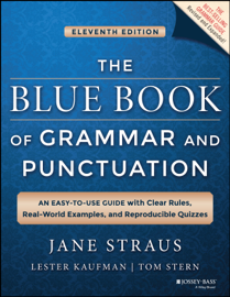The Blue Book of Grammar and Punctuation book