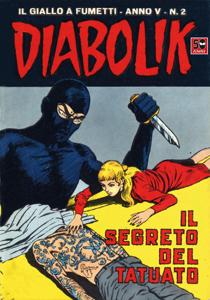 DIABOLIK (52) Copertina del libro
