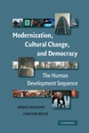 Modernization Cultural Change And Democracy