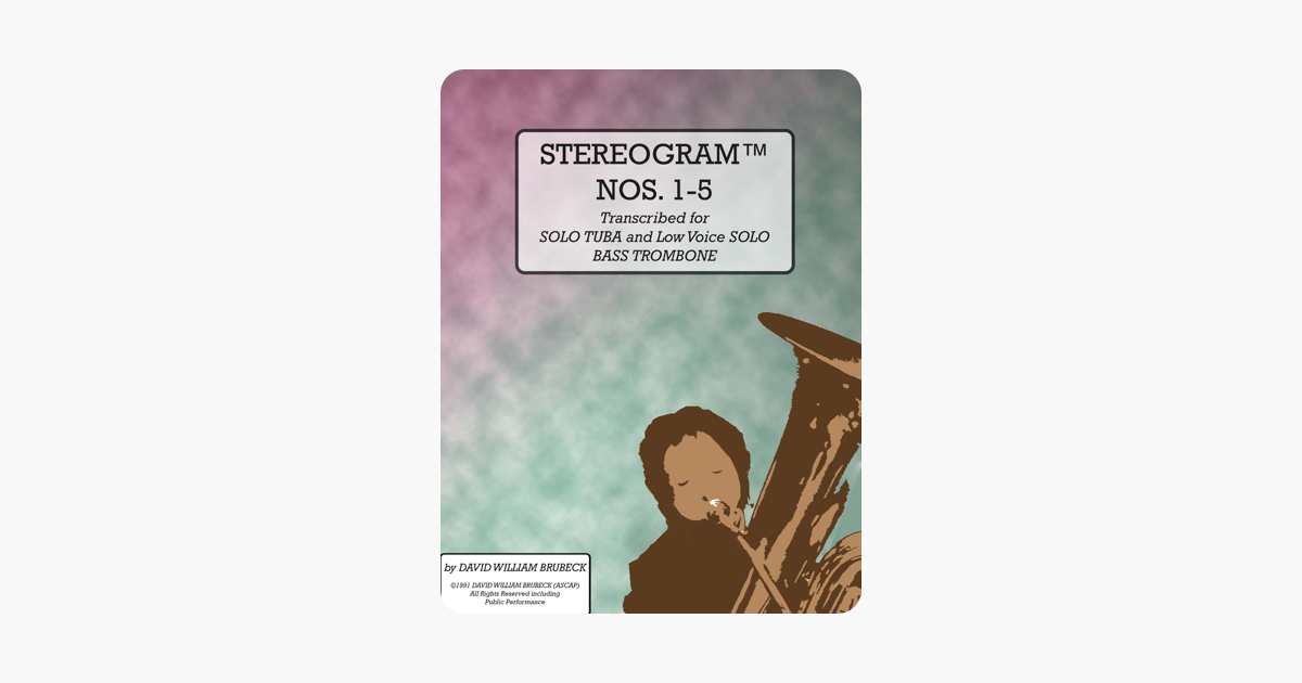 ‎Stereogram Nos  1-5 (Stereograms for Tuba Collection, #1)