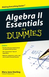 Algebra II Essentials For Dummies book