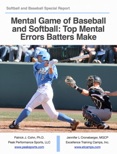 Mental Game of Baseball and Softball: Top Mental   Errors Batters Make Book Review