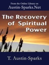 The Recovery Of Spiritual Power