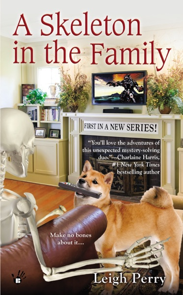 A Skeleton in the Family - Leigh Perry book cover