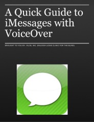 A Quick Guide to iMessages with VoiceOver