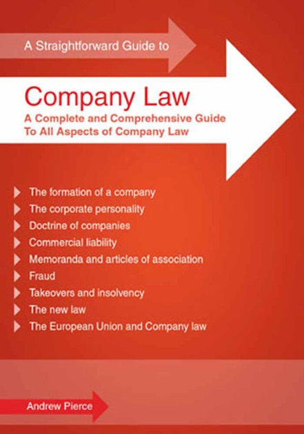A Straightforward Guide to Company Law by Andrew Pierce on Apple Books