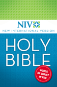 NIV, Holy Bible, Red Letter Edition