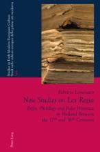 New Studies On Lex Regia