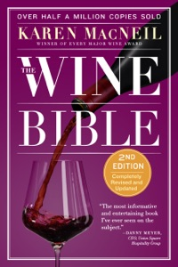 The Wine Bible by Karen MacNeil Book Cover