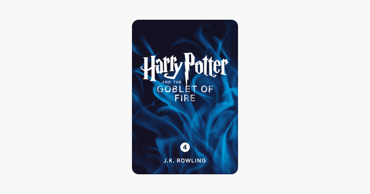 Harry Potter and the Goblet of Fire (Enhanced Edition) - J.K. Rowling