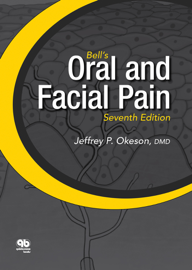 Bell's Oral and Facial Pain book