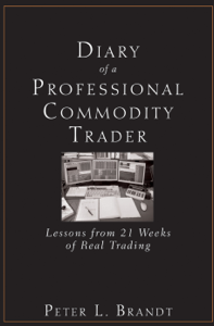 Diary of a Professional Commodity Trader Couverture de livre