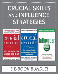 Crucial Skills and Influence Strategies