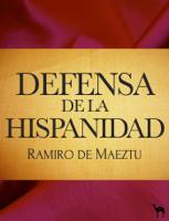 Defensa de la Hispanidad ebook Download