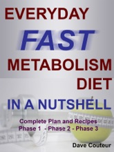 EVERYDAY FAST METABOLISM DIET: IN A NUTSHELL: Complete Plan and Recipes Phase 1 - Phase 2 - Phase 3