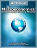 Macroeconomics: International Trade & Finance