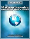 Macroeconomics International Trade  Finance