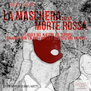 La maschera della morte rossa Copertina del libro