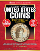 The Official Red Book: A Guide Book of United States Coins, Professional Edition Book Cover