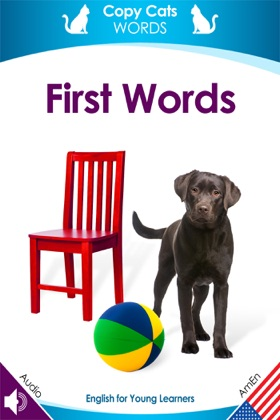 First Words (American English audio) book cover
