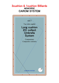 vol.1 T. Long cushion 2C collect & Umbrella System