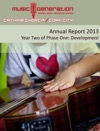 Music Generation Cork City Annual Report 2013