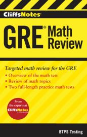 CliffsNotes GRE Math Review book