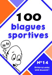 100 blagues sportives La couverture du livre martien