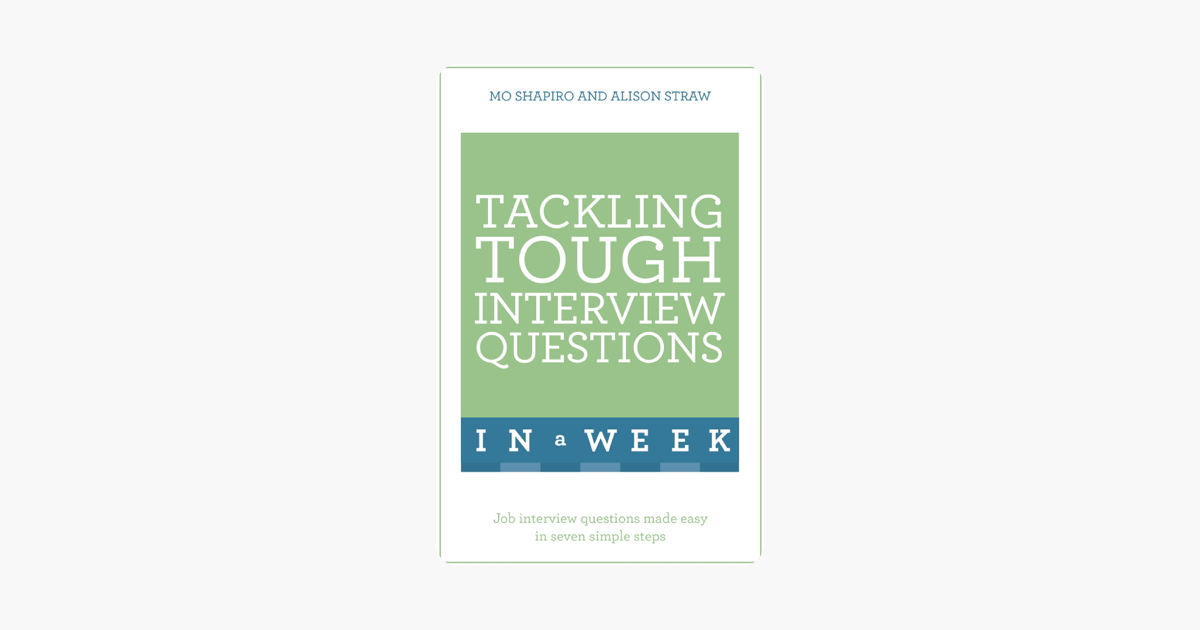 ‎Tackling Tough Interview Questions In A Week