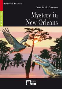 Mystery in New Orleans Copertina del libro