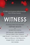Witness A Thriller And Suspense EBook Sampler From Witness