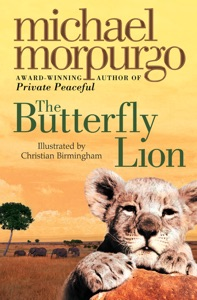 The Butterfly Lion Book Cover