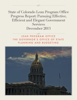 Henry Sobanet, Erick Scheminske, Laura Sigrist, Ben Neivert & Colorado Governor's Office of State Planning and Budgeting - State of Colorado Lean Program Office Progress Report grafismos
