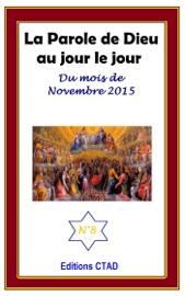 LA PAROLE DE DIEU AU JOUR LE JOUR (MOIS DE NOVEMBRE 2015)