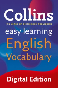 Easy Learning English Vocabulary Book Cover