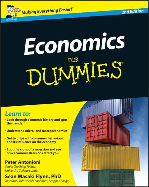 economia para dummies sean masaki flynn