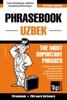 Phrasebook Uzbek: The Most Important Phrases - Phrasebook + 250-Word Dictionary