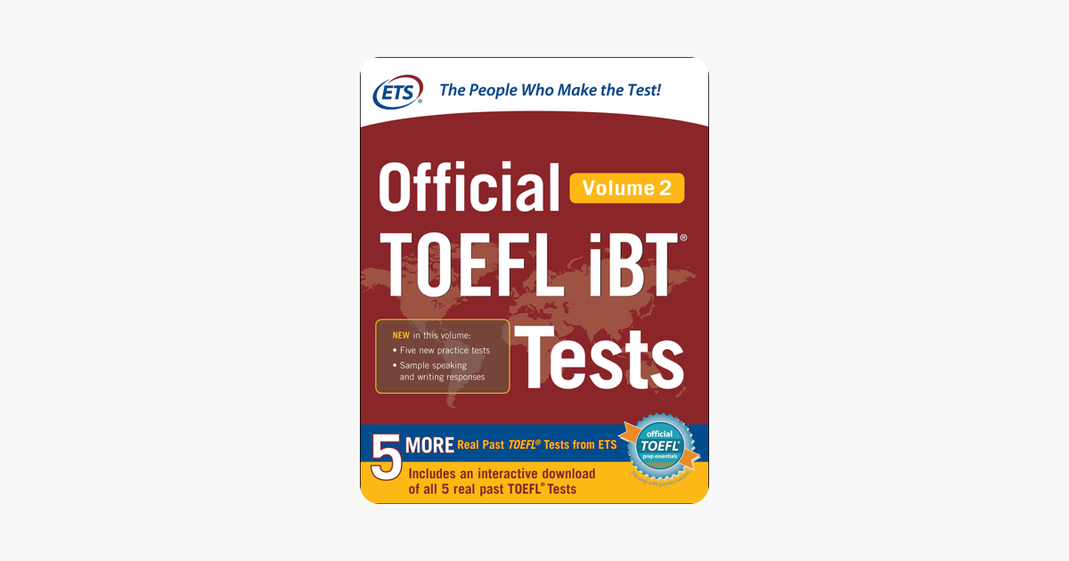 Official TOEFL iBT® Tests Volume 2